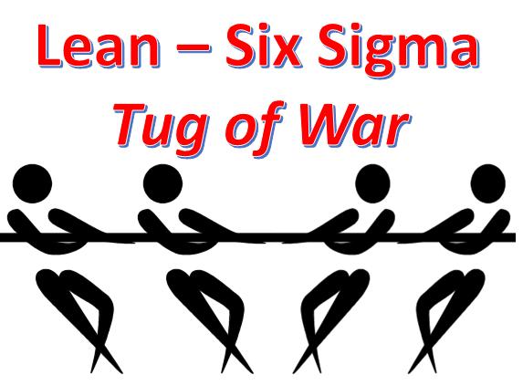 Lean Six Sigma Tug of War