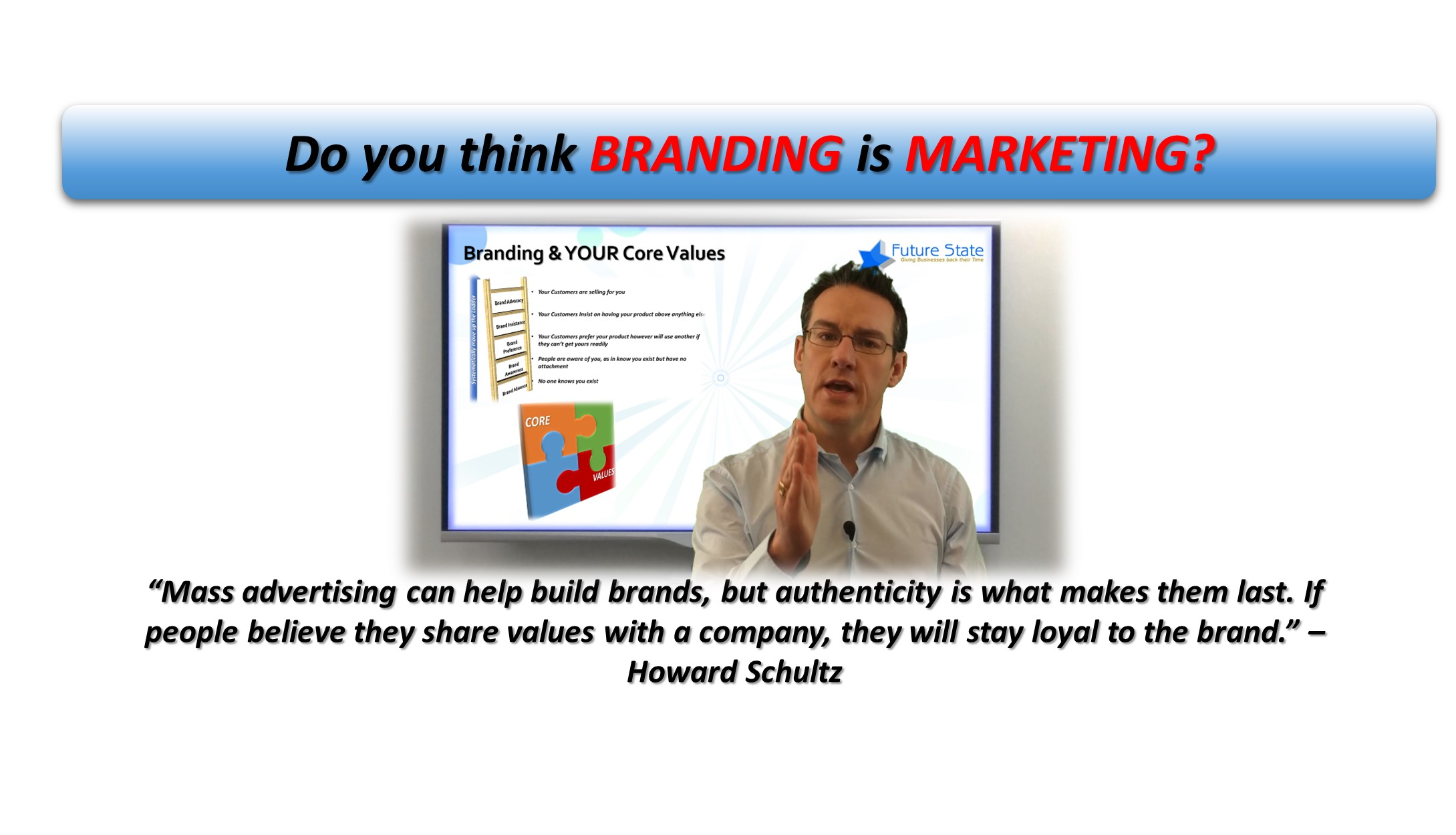 Do You Think Branding is Marketing?