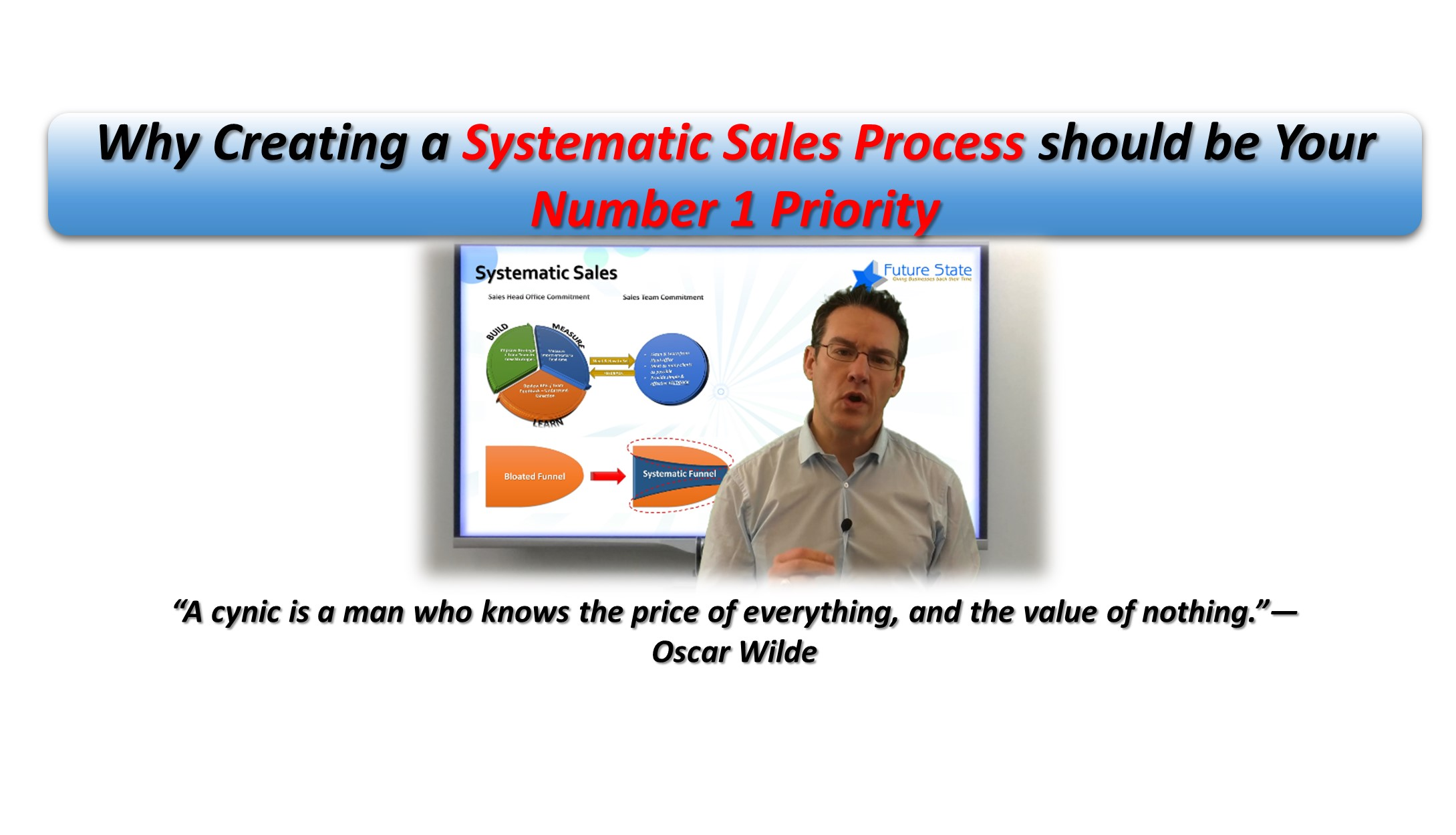 Why Creating a Systematic Sales Process should be Your Number 1 Priority