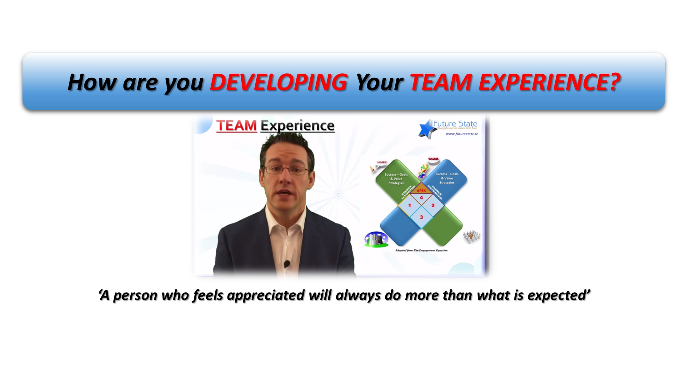 How are YOU Developing YOUR Team Experience?
