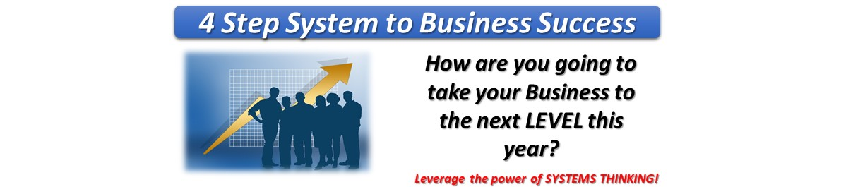 Systems Thinking – 4 Step System for Business Success