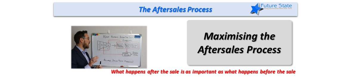 Systematic Sales – The Aftersales Process