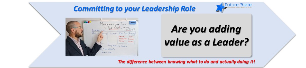 Leadership Commitment – The Difference between Knowing and Doing
