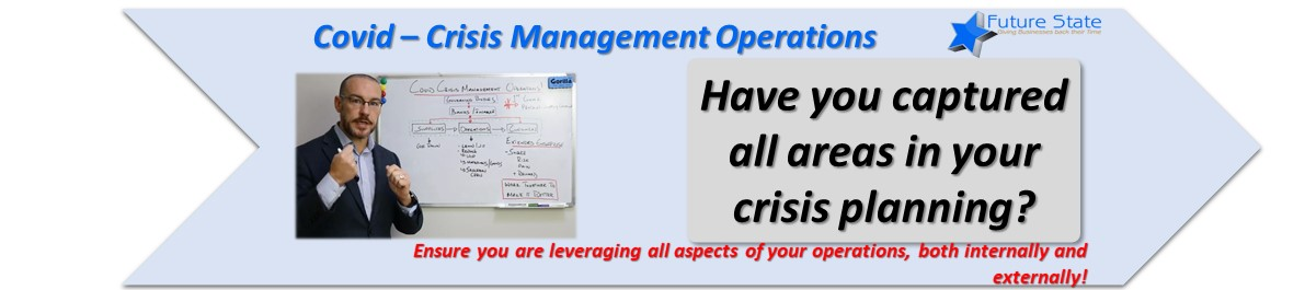 Covid Crisis Management – Operations
