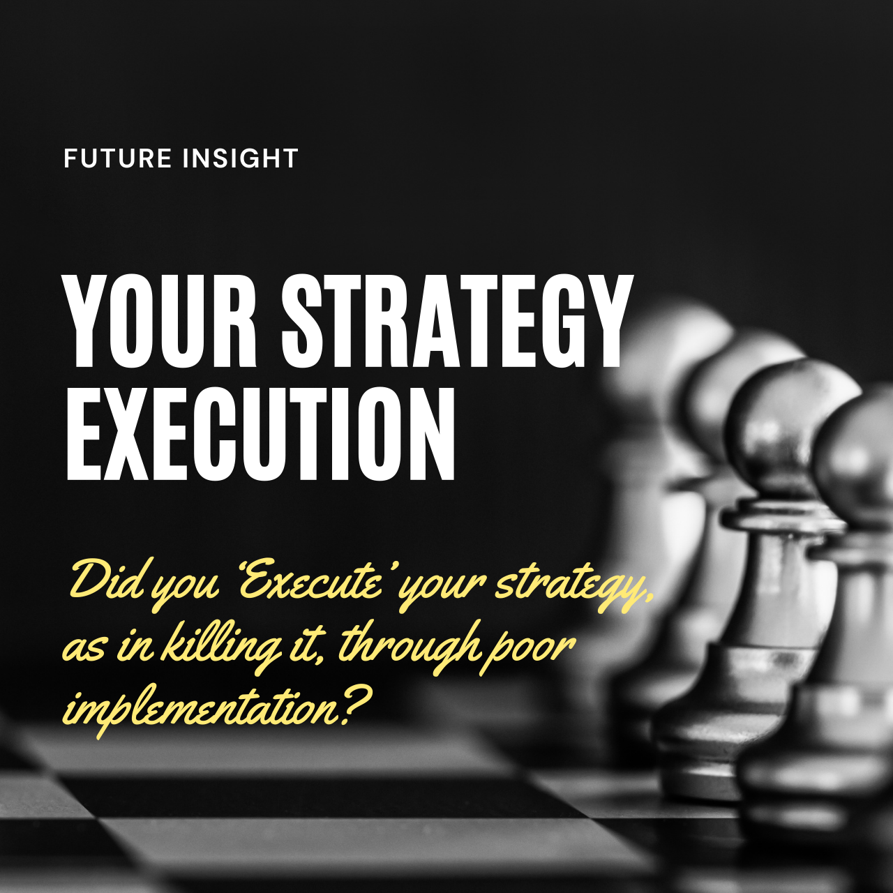Your Strategy Execution